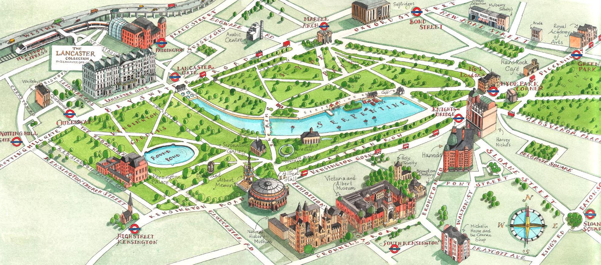 London-Hyde-Park-map