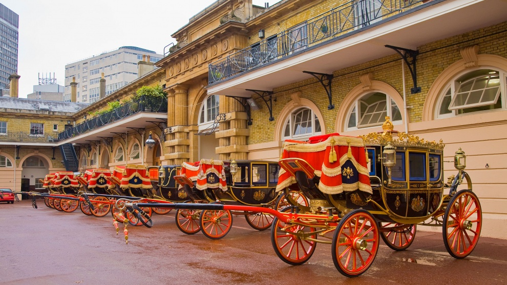 Royal Mews - Buckingham Palace Londen