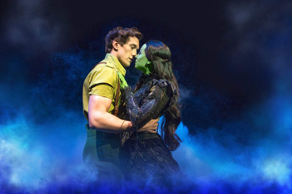 De Wicked musical in West End in Londen