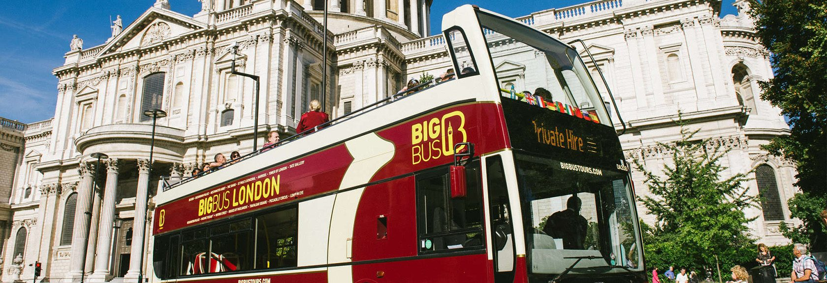 Londen Big Bus Tours (Hop-on Hop-off Bus)