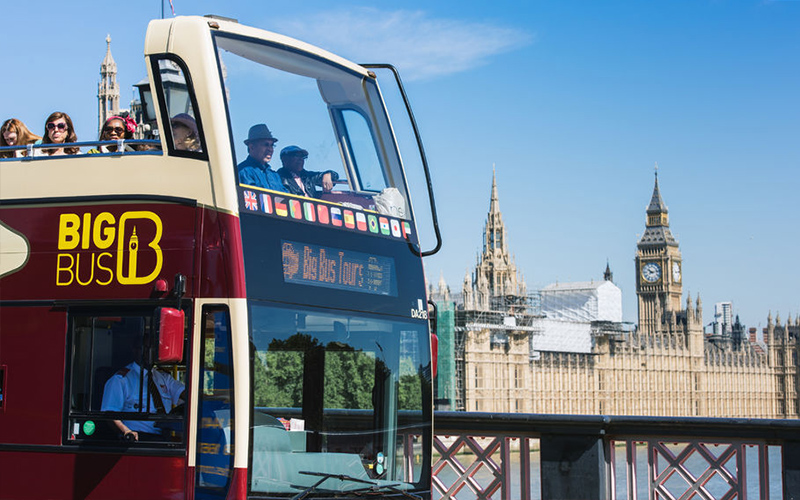 Big Bus Tours Londen - hop on hop off bussen Londen
