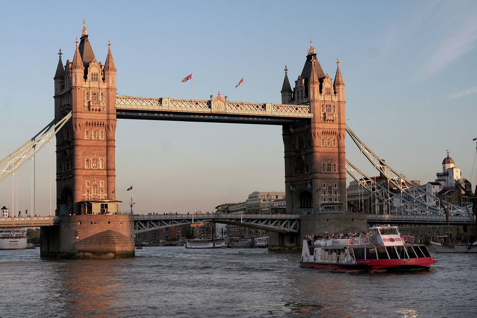 Avondcruise over de Theems in Londen