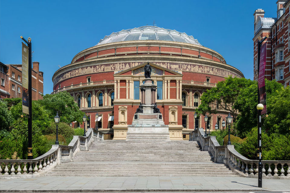 De Royal Albert Hall in Londen
