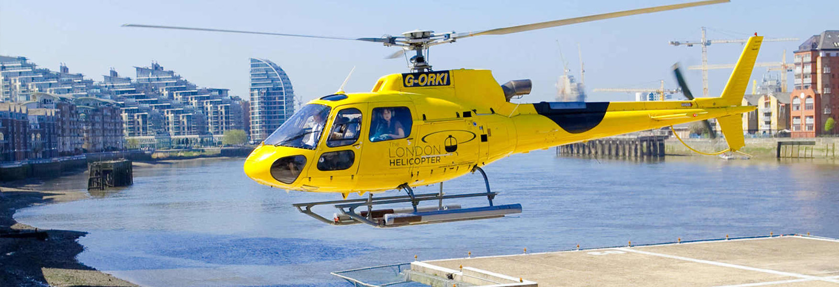 Londen helikopter tour
