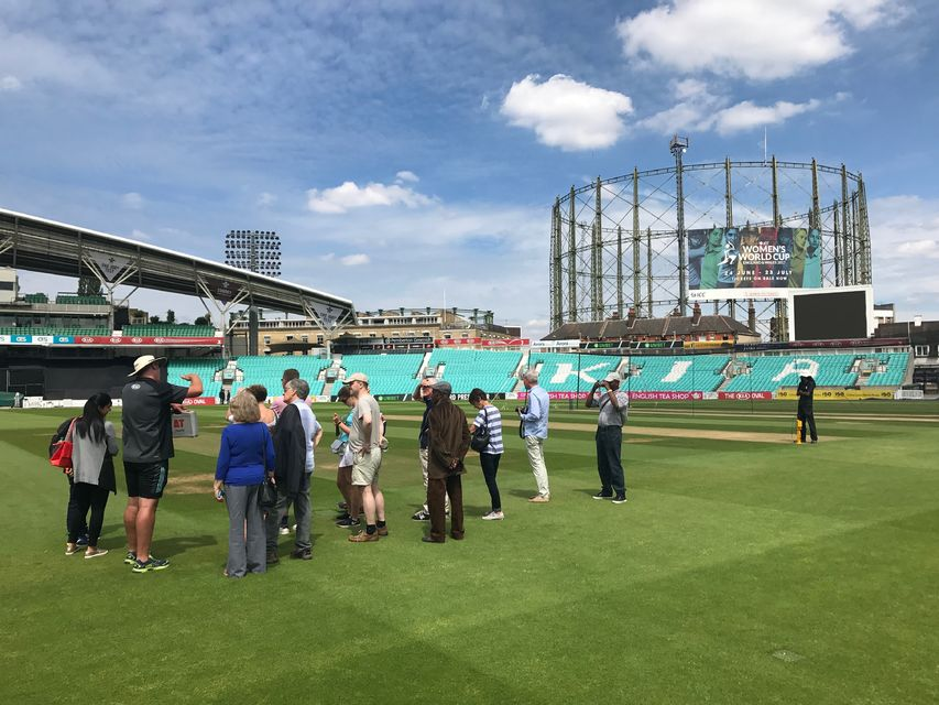 Kia Oval stadion tour in Londen