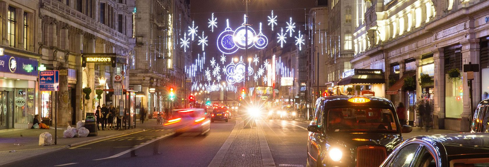 London Christmas Lights Tour