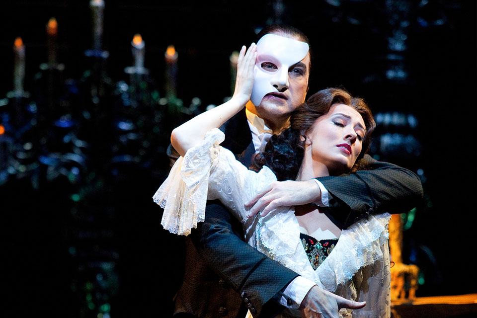 The Phantom of the Opera musical in Londen