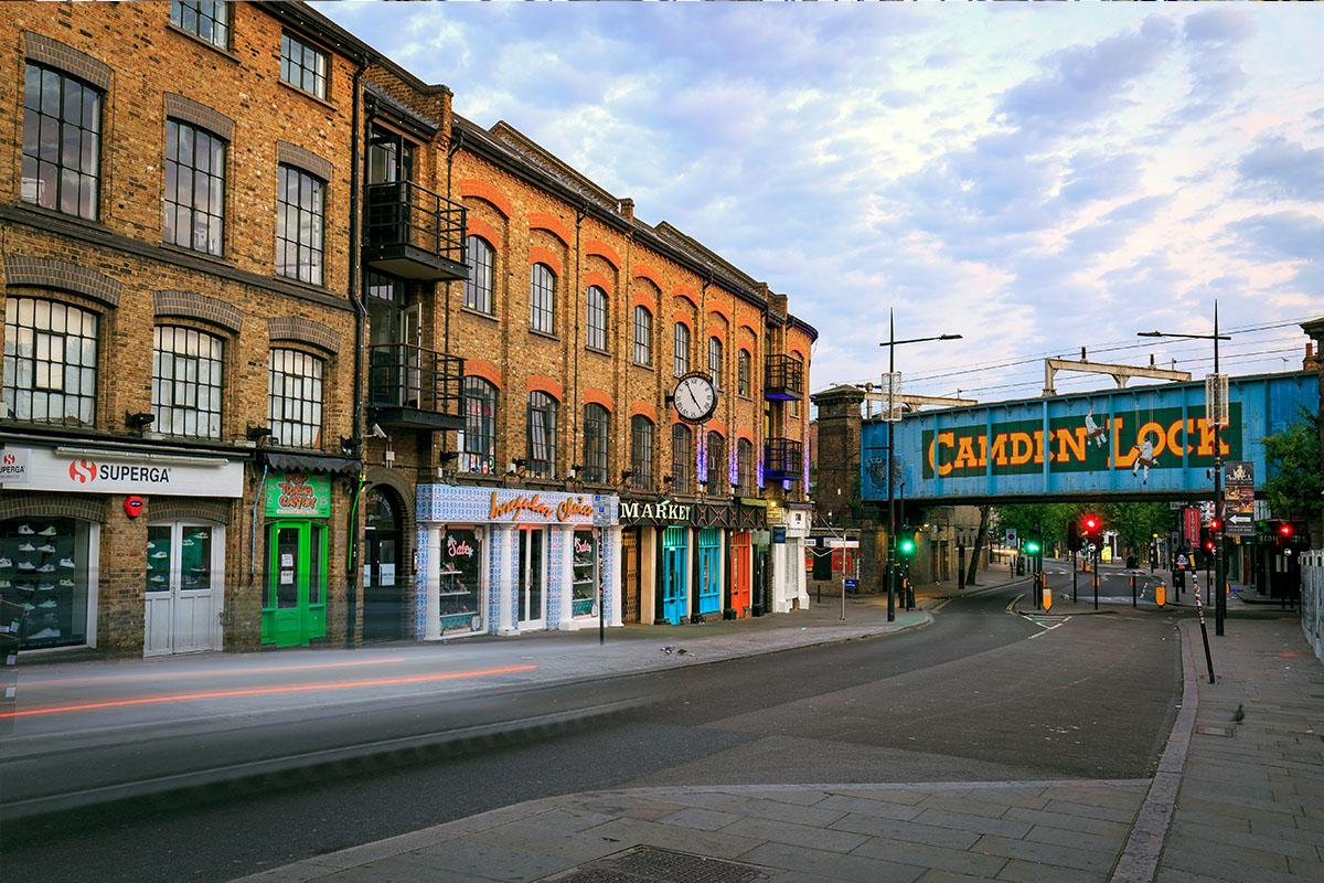 Camden Market in Londen