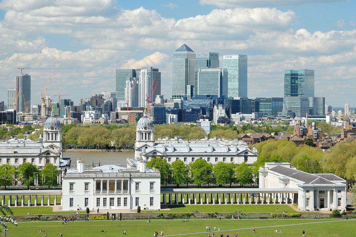 Greenwich Park in Londen