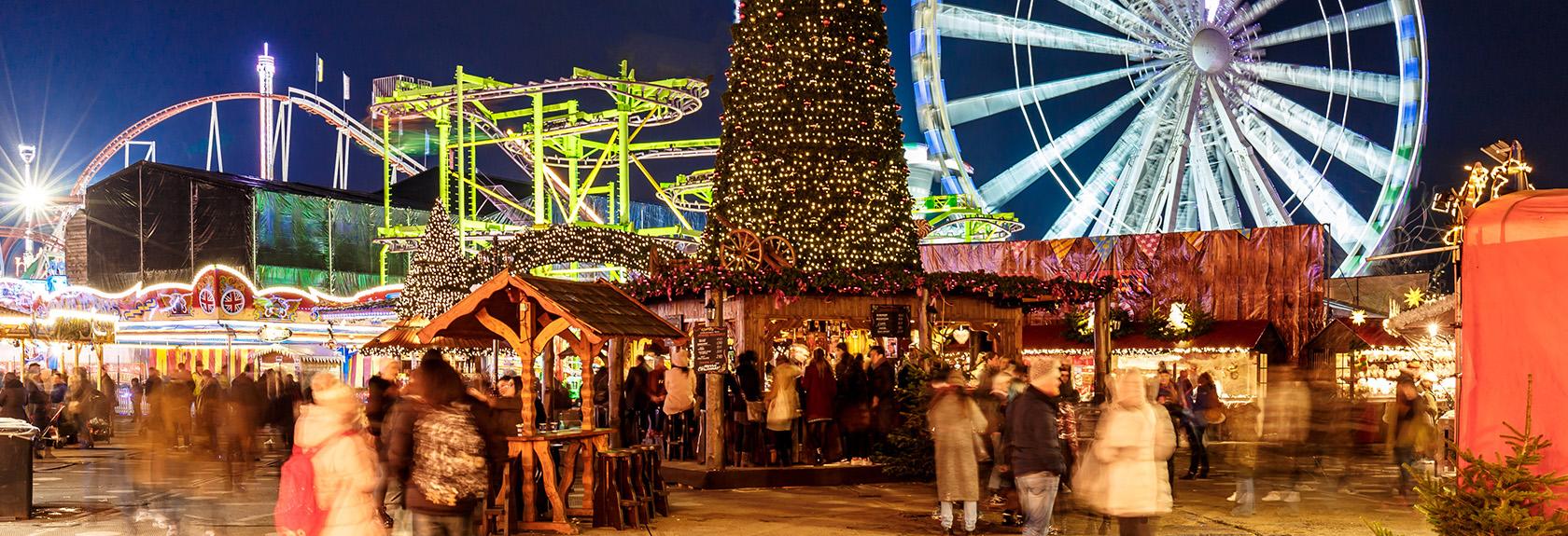 Kerstmarkten in Londen