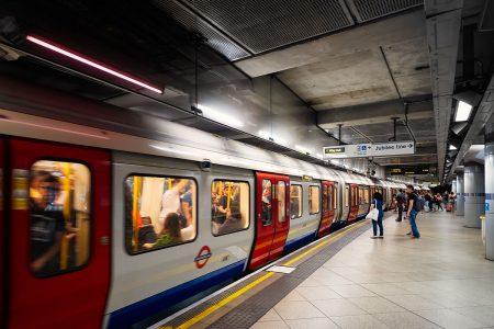 De metro in Londen