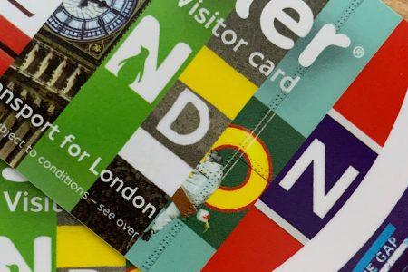De Visitor Oyster Card, de OV chipkaart voor het openbaar vervoer in Londen