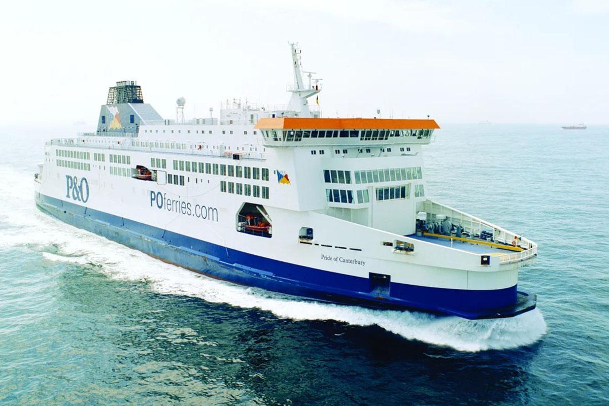 P&O Ferries veerdienst tussen Calais en Dover
