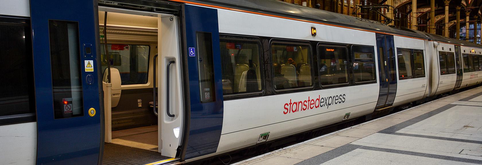 Stansted Express trein