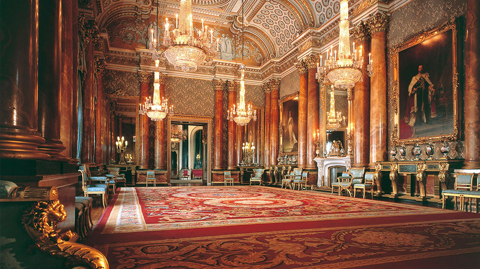 State Rooms Buckingham Palace Londen